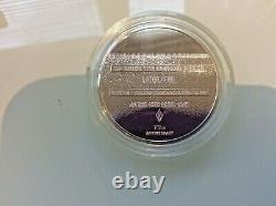 The Royal Mint 1945 Liberation Silver Medal 70th Anniversary Very Rare Only 150