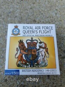 VERY RARE 1500 Royal Air Force 32 The Royal Sqn BAe146 ZE701