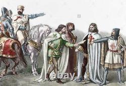 VERY RARE ORIGINAL ROYAL and MILITARY ORDER of SAINT HERMENEGILDO