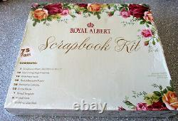 VERY RARE ROYAL ALBERT Old Country Roses Scrapbook Kit Unused Cond