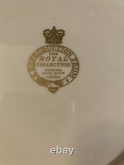 VERY RARE Royal Collection Fine Bone China Great Exhibition 1851 Plate The Crown