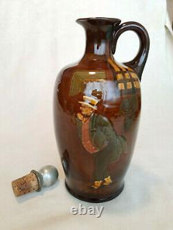 VERY RARE Royal Doulton Kingsware Mr. Pickwick Bottle