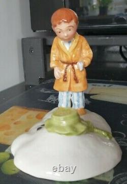 VERY RARE! Royal Doulton The Snowman and James Limited Edition The Journey Ends