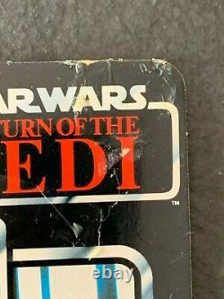 VERY RARE! Star Wars Vintage 1983 Emperor's Royal Guard Tri-Logo Original Card