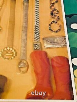 VERY RARE Vintage Accessories Fits Barbie FASHION ROYAL1/6 clone JEWELRY SHOES
