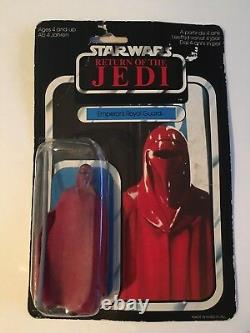 VERY RARE Vintage Star Wars PALITOY EMPERORS ROYAL GUARD, ESB, JEDI, reseal