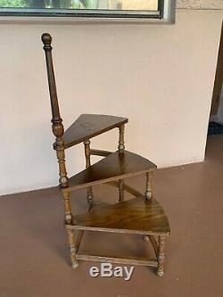 VERY RAREEthan Allen Royal Charter Oak Library Step 16-9019