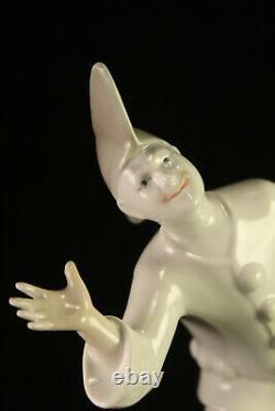 VERY Rare Royal Copenhagen 486 Pierrot Clown Porcelain Figurine Tivoli B&G 2353
