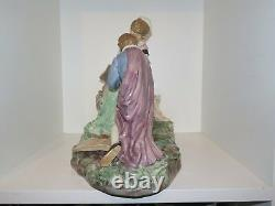 VERY rare and large Royal Copenhagen Overglaze figurine