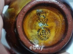 Very RARE Royal Doulton Kingsware Cavalier Vase with Double Handles