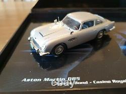 Very Rare 1/43 James Bond 007 Casino Royale Aston Martin Db5 & Dbs Set