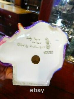 Very Rare Art deco Royal Doulton Lady Fayre HN1265 signed by Leslie Harradine