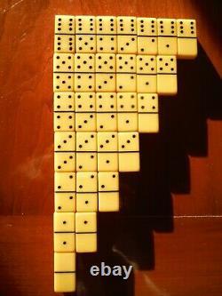 Very Rare Dovetail Bakelite Dominoes Royal Travel Games Set Chess Set Mint