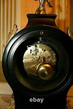 Very Rare Franz Hermle Imperial Boulle Gilt Ormolu clock