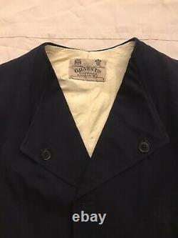 Very Rare Gieves 1930s Mens Blouson Jacket possibly Royal Navy Private Purchase