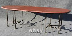 Very Rare Iconic Maison Jansen Dining Table Royale C1960