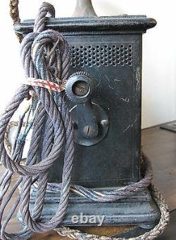 Very Rare Imperial German Telephone R Kruger WWI Era