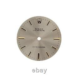 Very Rare Rolex Dial OYSTER ROYAL Steel and Gold Shock Resistant Underline Mens