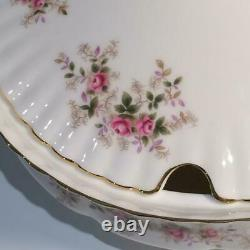 Very Rare Royal Albert Lavender Rose Soup Tureen With Notched LID Ch4964