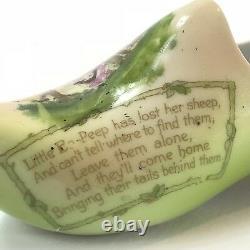 Very Rare Royal Bayreuth Dutch Style Little Bo Peep Fairytale Shoe