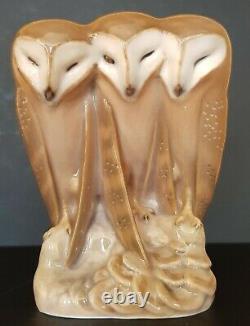 Very Rare Royal Copenhagen Owl Collection
