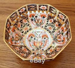 Very Rare Royal Crown Derby Imari 6299 Pattern BOWL c. 1917 Beautiful
