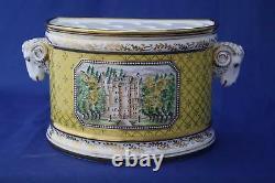 Very Rare Royal Crown Derby Sinclairs L/e100 Queen Mother Bough Pot Box/cert
