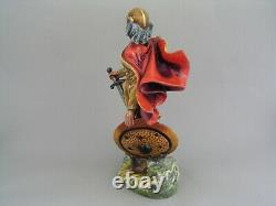 Very Rare Royal Doulton Alfred The Great 9 3/4 Figurine, Hn 3821