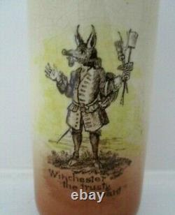 Very Rare Royal Doulton Antique Seriesware Vase Old Winchester Excellent