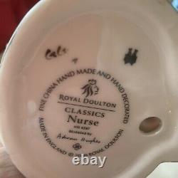 Very Rare Royal Doulton HN 4287 Classics Nurse Adrian Hughes Mint- 8.5