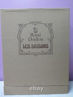 Very Rare Royal Doulton HN3066 Les Saisons Printemps Spring 1985 Original BOX