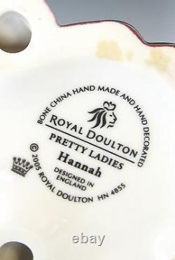 Very Rare Royal Doulton HN4855 Hannah pretty ladies 8 6/8 High app. (#593)