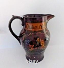 Very Rare Royal Doulton Kingsware Jug Duke Of York Excellent Condition