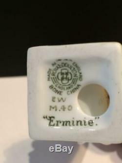 Very Rare Royal Doulton Miniature Erminie Figurine M40 No Others Available R2236