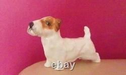 Very Rare Royal Doulton Sealyham Standing Style One Hn 982 Perfect