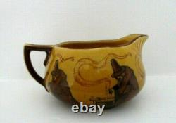 Very Rare Royal Doulton Seriesware Holbein Milk Jug Witches D2735 Excellent
