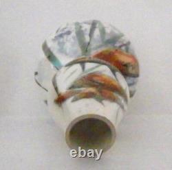 Very Rare Royal Doulton Seriesware Lustre Fish Vase Mackerel Excellent