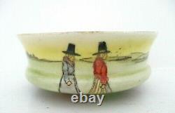 Very Rare Royal Doulton Seriesware Pedestal Sugar Bowl Welsh Ladies E3794