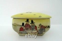 Very Rare Royal Doulton Seriesware Trinket Box Welsh Ladies D2717 Perfect