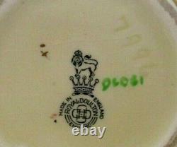 Very Rare Royal Doulton Seriesware Vase Blackberries D6081 Perfect