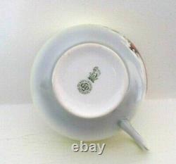 Very Rare Royal Doulton Teacup & Saucer Christmas, Santa Claus E5108 Perfect