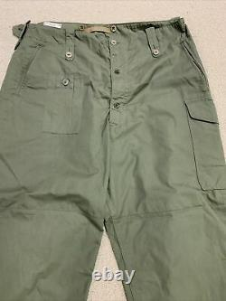 Very Rare Royal Observer Corps'Suits Protective ROC Trouser' 1953 LARGE