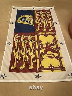 Very Rare Royal Standard Flag For Used By Those Without Their Own Standard