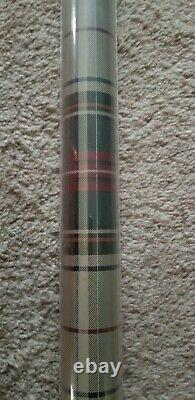 Very Rare Sealed Classic Ralph Lauren Imperial Beige Plaid Double Roll Wallpaper