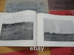 Very Rare Set Of 11 K. Ogawa The Russo-Japanese War Imperial Photography Books