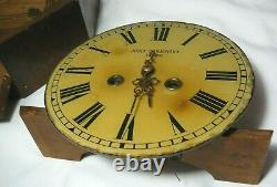 Very Rare Station Watch Imperial Russia Odessa Brass Wood
