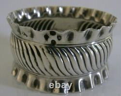 Very Rare Sterling Silver Royal Ashdown Forest Golf Club Napkin Ring 1888