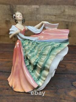 Very Rare Vintage Royal Doulton Ann HN 3259 Statue