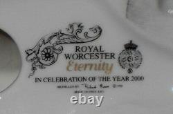 Very Rare Vintage Royal Worcester Porcelain Eternity Millennium Figurine