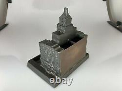 Very Rare Vintage Royal York Hotel Metal Souvenir Building Lighter Set